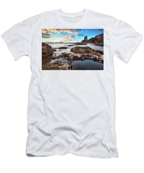 Coast At Sozopol, Bulgaria Men's T-Shirt (Athletic Fit)