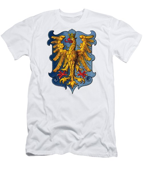 Coat Of Arms Of The Duchy Of Friuli Men's T-Shirt (Athletic Fit)