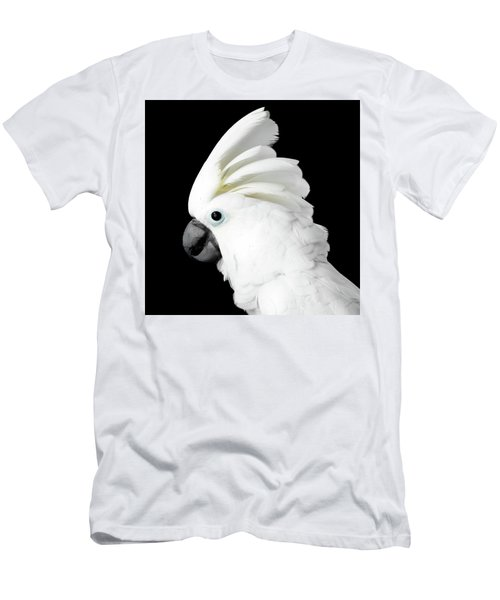 Men's T-Shirt (Athletic Fit) featuring the photograph Cockatoo Alba by Sergey Taran