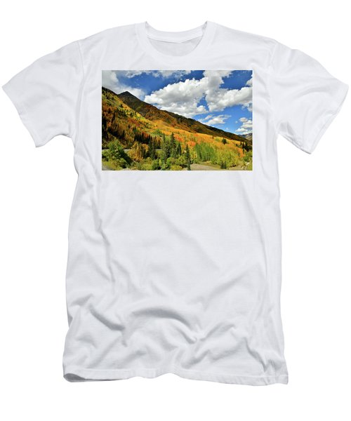 Color In The Spotlight At Red Mountain Pass Men's T-Shirt (Athletic Fit)