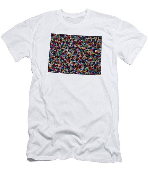 Colorado Map - 1 Men's T-Shirt (Athletic Fit)