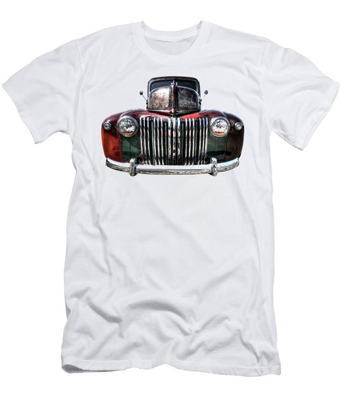 Colorful Rusty Ford Head On Men's T-Shirt (Athletic Fit)