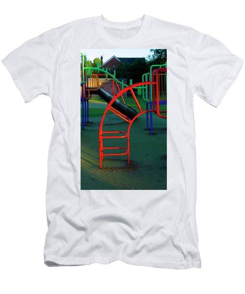Colours. Red  Men's T-Shirt (Athletic Fit)