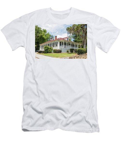 Columbia County Visitors Center - Savannah Rapids Men's T-Shirt (Athletic Fit)