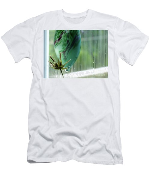 Composition In Green Men's T-Shirt (Athletic Fit)