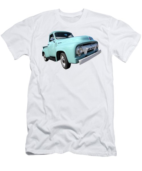Cool As Ice - 1954 Ford F-100 Glacier Blue Men's T-Shirt (Athletic Fit)