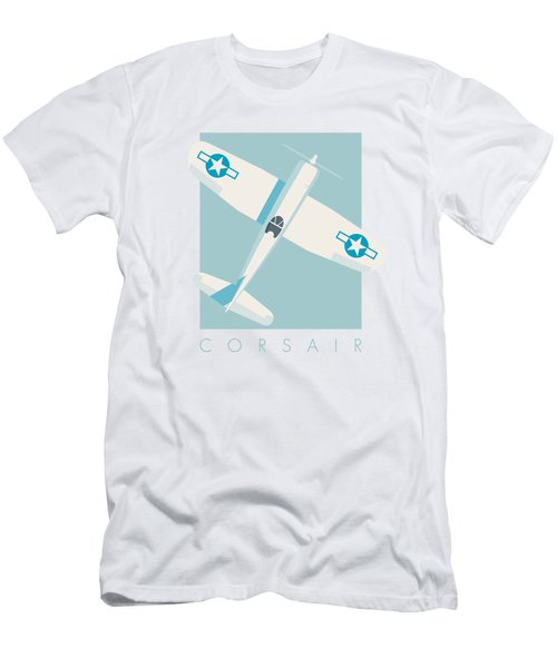 Corsair Fighter Aircraft - Sky Men's T-Shirt (Athletic Fit)