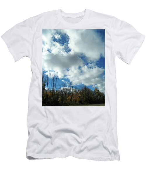 Country Autumn Curves 10 Men's T-Shirt (Athletic Fit)