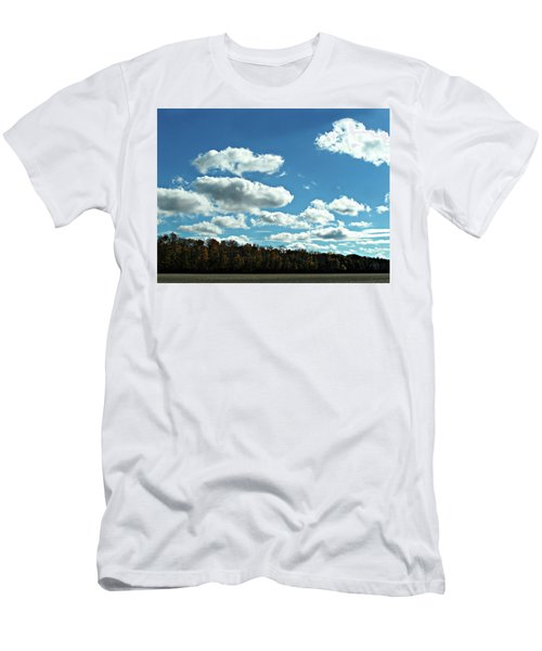 Country Autumn Curves 12 Men's T-Shirt (Athletic Fit)