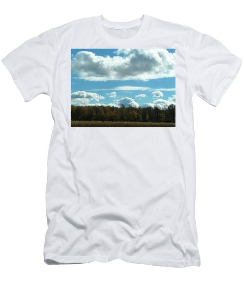 Country Autumn Curves 8 Men's T-Shirt (Athletic Fit)