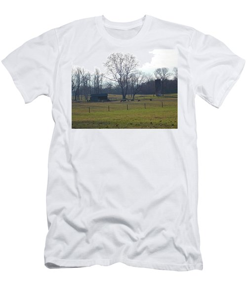 Country Pasture Men's T-Shirt (Athletic Fit)