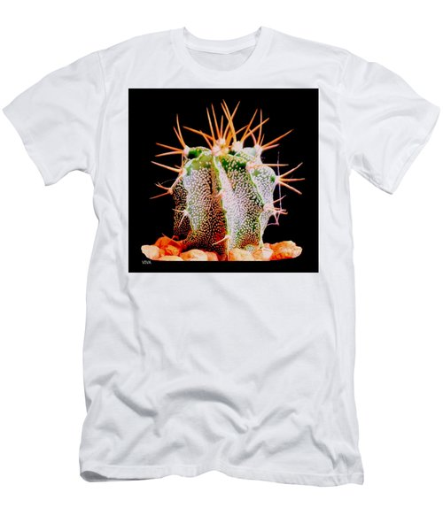 Crazy  Cactus Men's T-Shirt (Athletic Fit)