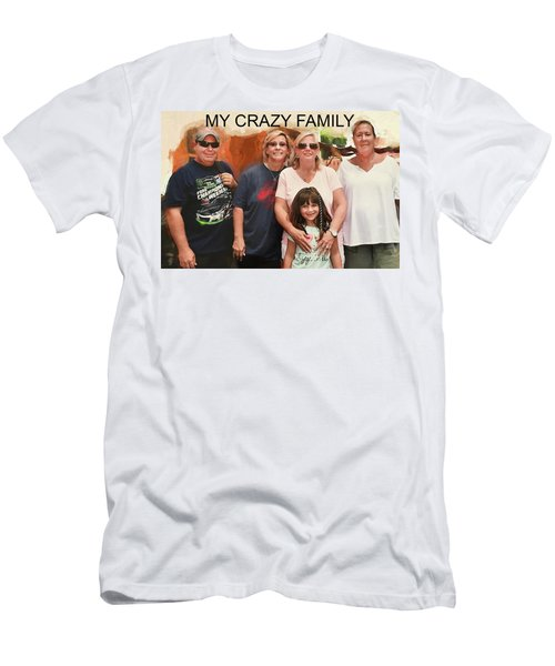Crazy Family Men's T-Shirt (Athletic Fit)