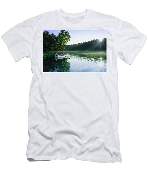 Cruise For Two Men's T-Shirt (Athletic Fit)