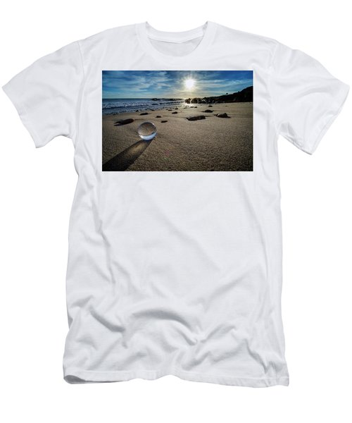 Crystal Ball Sunset Men's T-Shirt (Athletic Fit)
