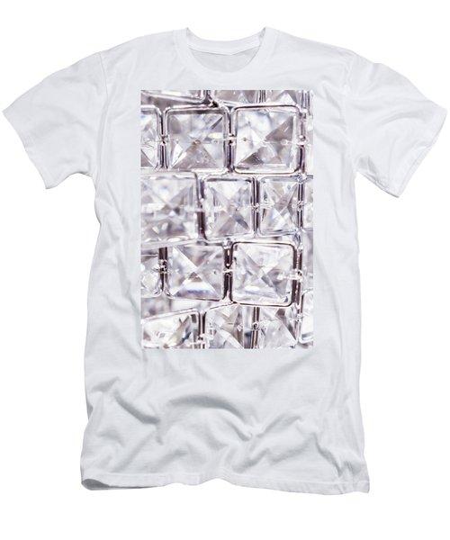 Crystal Bling V Men's T-Shirt (Athletic Fit)