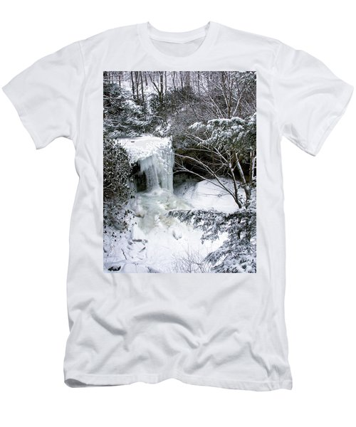Cucumber In Winter Men's T-Shirt (Athletic Fit)