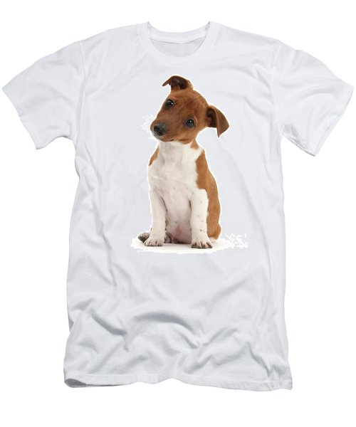 Men's T-Shirt (Athletic Fit) featuring the photograph Curious by Warren Photographic