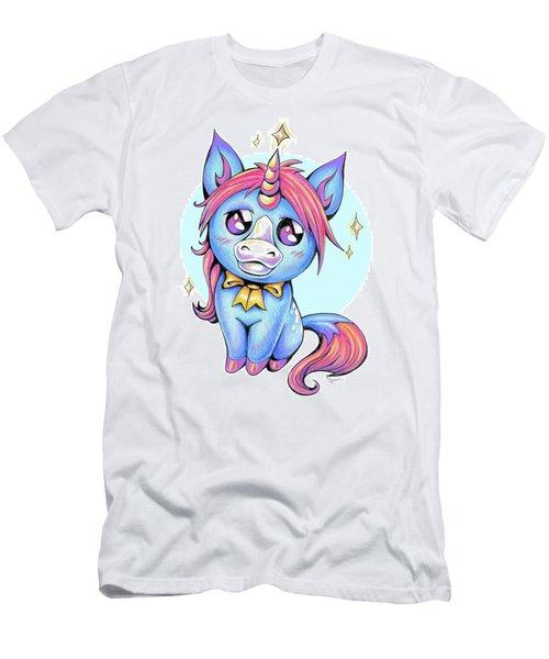 Cute Unicorn I Men's T-Shirt (Athletic Fit)