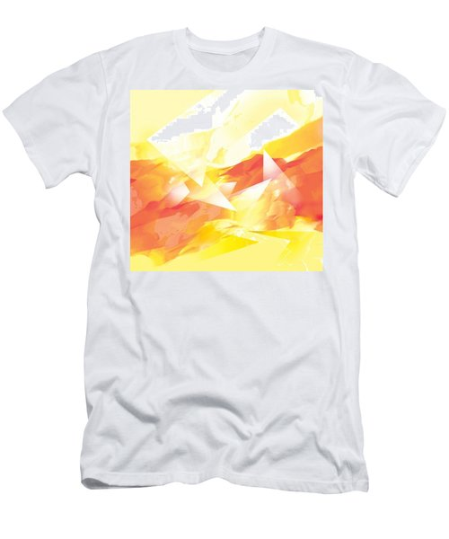 Men's T-Shirt (Athletic Fit) featuring the painting Da7 Da7471 by Arttantra