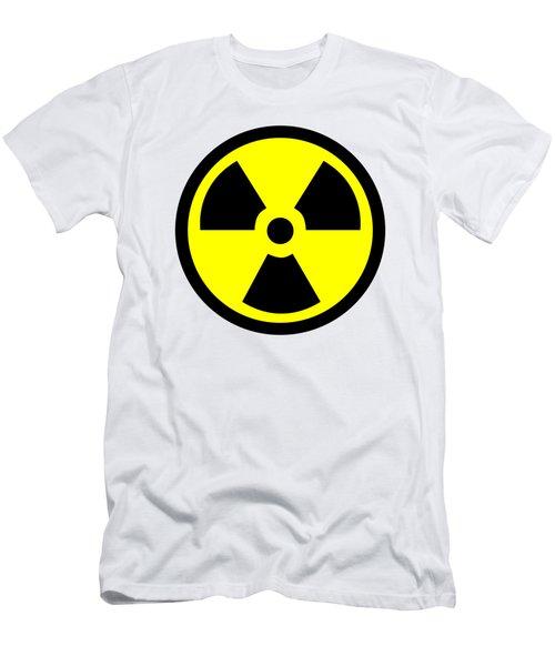 Danger Radiation Sign - Efb256 Men's T-Shirt (Athletic Fit)
