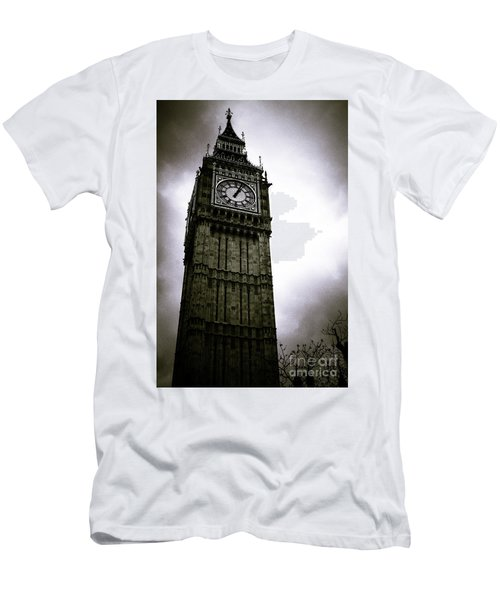 Dark Big Ben Men's T-Shirt (Athletic Fit)
