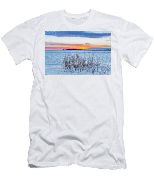 Daybreak Over East Bay Men's T-Shirt (Athletic Fit)