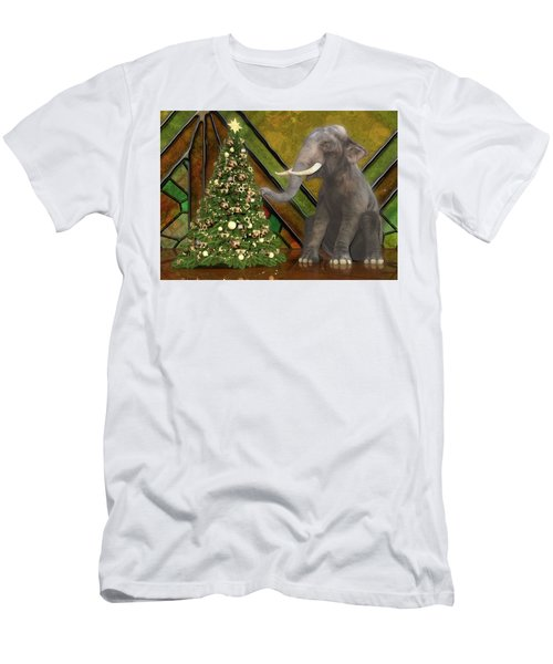 Decorating The Perfect Tree Men's T-Shirt (Athletic Fit)