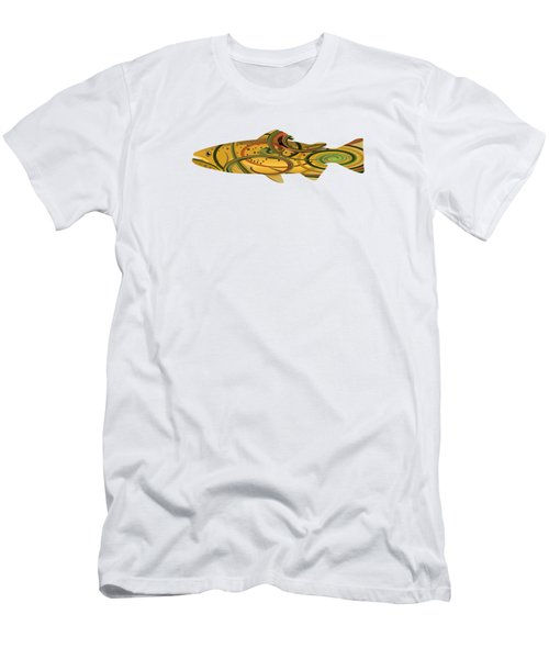 Mystic Trout- Spring Run Men's T-Shirt (Athletic Fit)