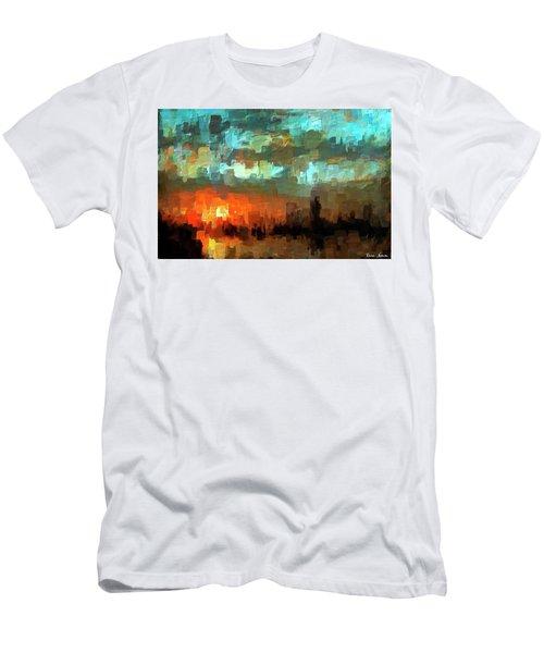 Detroit Days End Men's T-Shirt (Athletic Fit)