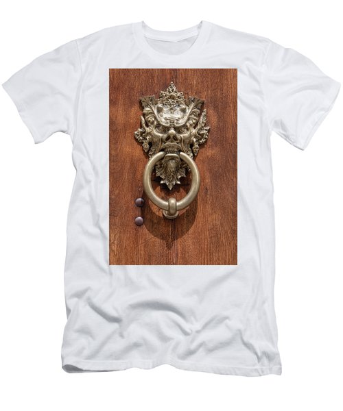 Devil Door Of Venice Men's T-Shirt (Athletic Fit)