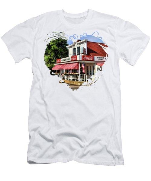 Door County Wilson's Ice Cream Store Men's T-Shirt (Athletic Fit)