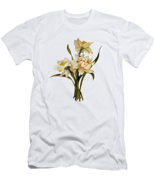 Double Narcissi Spring Flower Bouquet  Men's T-Shirt (Athletic Fit)