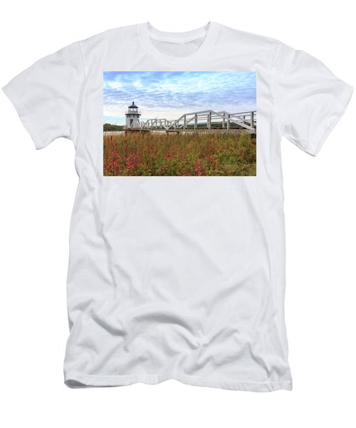 Doubling Point Lighthouse In Maine Men's T-Shirt (Athletic Fit)