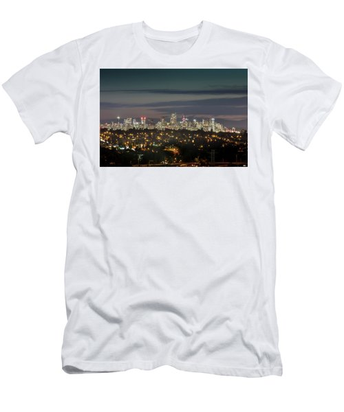 Downtown Dusk Men's T-Shirt (Athletic Fit)