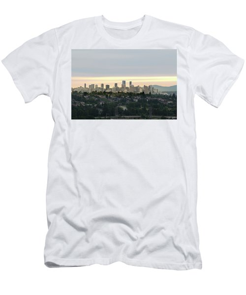 Downtown Sunset Men's T-Shirt (Athletic Fit)