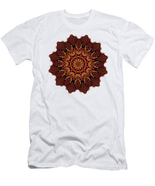 Dragon Clock Medallion For Apparel Men's T-Shirt (Athletic Fit)