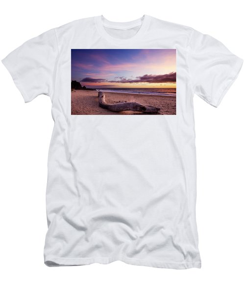 Driftwood At Sunset Men's T-Shirt (Athletic Fit)