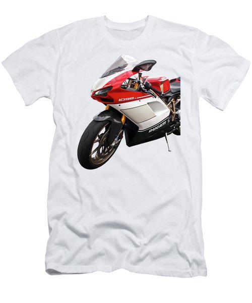 Ducati 1098s Motorcycle Men's T-Shirt (Athletic Fit)