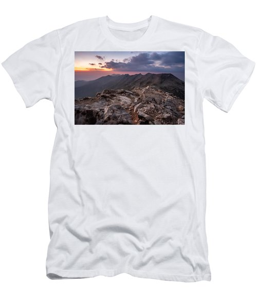 Dusk At Peak Vihren  Men's T-Shirt (Athletic Fit)