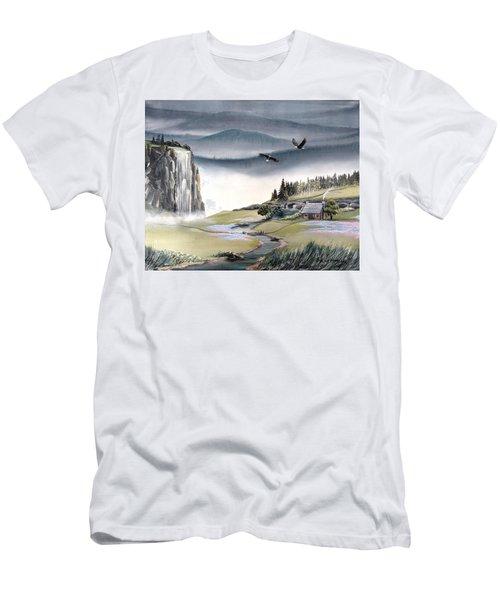 Eagle View Men's T-Shirt (Athletic Fit)