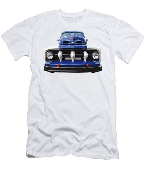 Early Fifties Ford V8 F-1 Truck Men's T-Shirt (Athletic Fit)