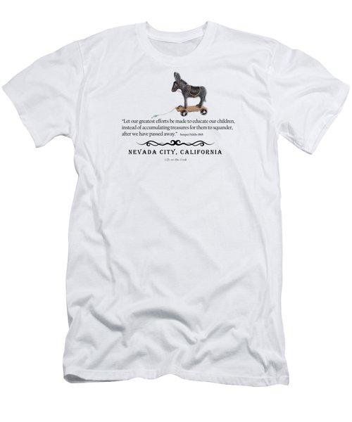 Educational Treasure Men's T-Shirt (Athletic Fit)
