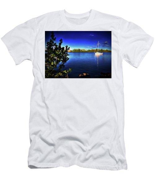 Elixir Sailboat Men's T-Shirt (Athletic Fit)