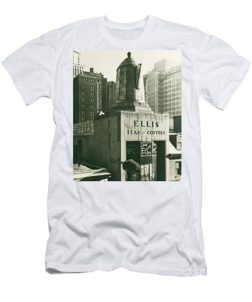 Ellis Tea And Coffee Store, 1945 Men's T-Shirt (Athletic Fit)