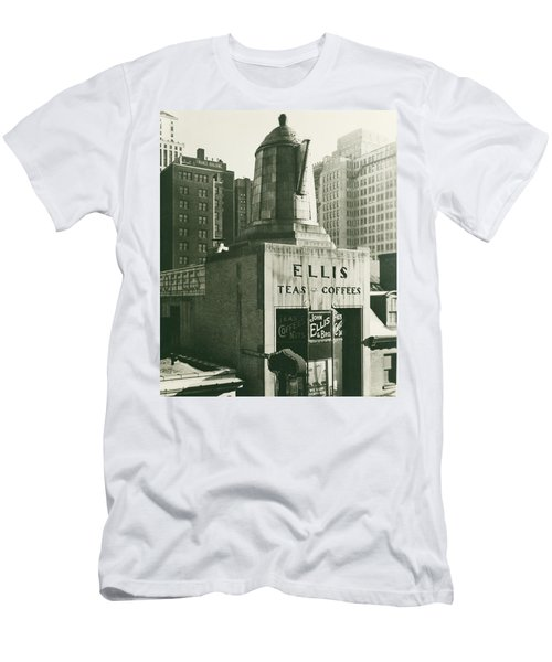Ellis Tea And Coffee Store, 1945 Men's T-Shirt (Athletic Fit)