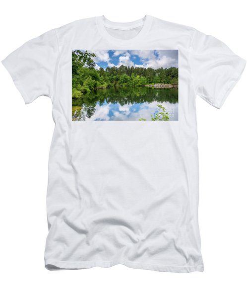 Euchee Creek Park - Grovetown Trails Near Augusta Ga 1 Men's T-Shirt (Athletic Fit)