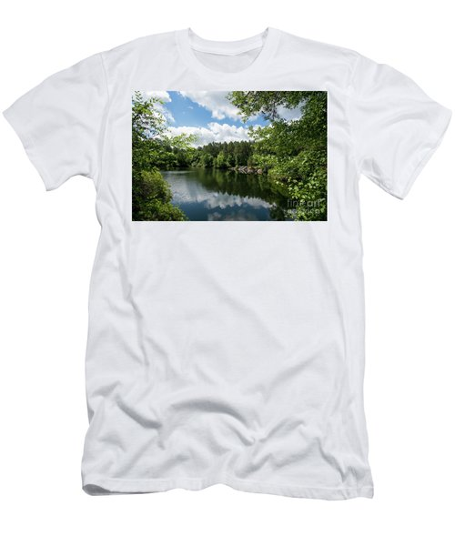 Euchee Creek Park - Grovetown Trails Near Augusta Ga 2 Men's T-Shirt (Athletic Fit)