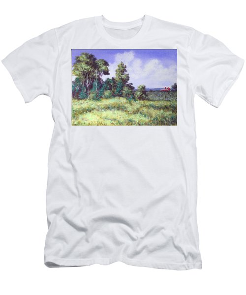 Farm Country Sketch Men's T-Shirt (Athletic Fit)