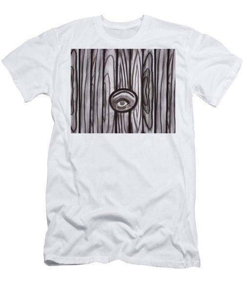 Fear - Eye Through Fence Men's T-Shirt (Athletic Fit)